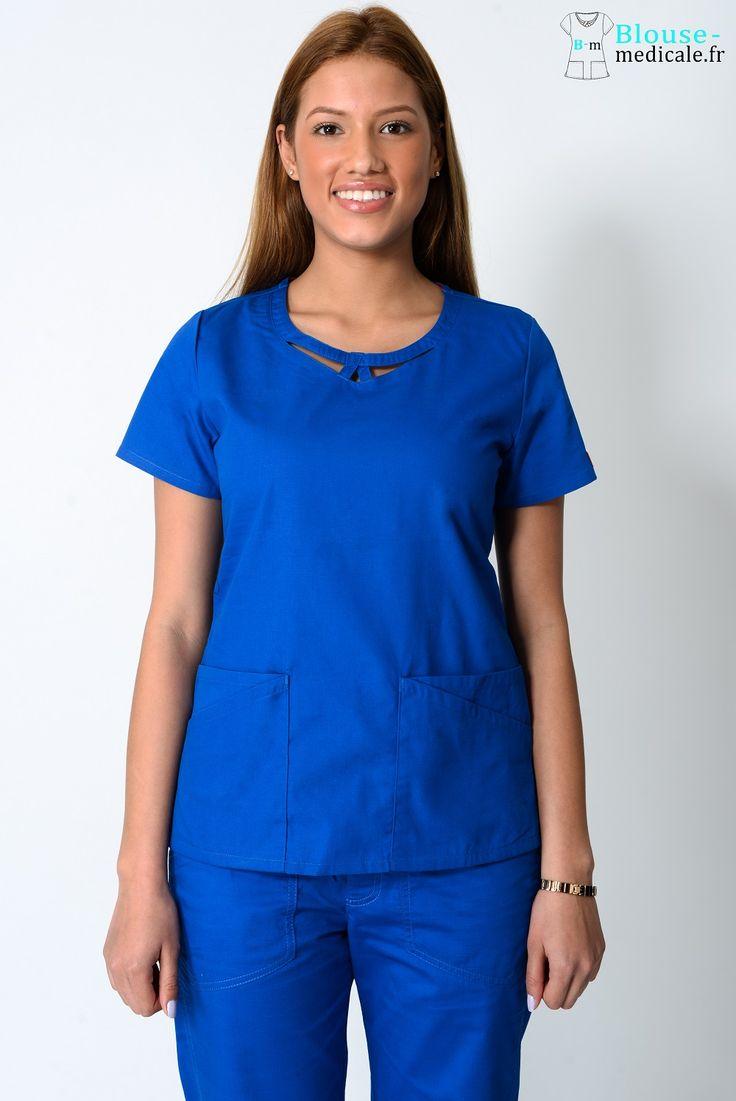 Tunique Dickies Médical Femme 85810 Bleu Royal