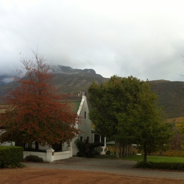 Lanzerac - Stellenbosch Beautiful, Caren! This farm used to belong to my family in the 1700's