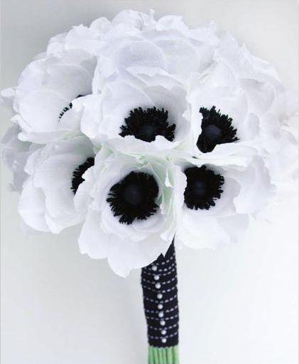 anemone (crepe paper)