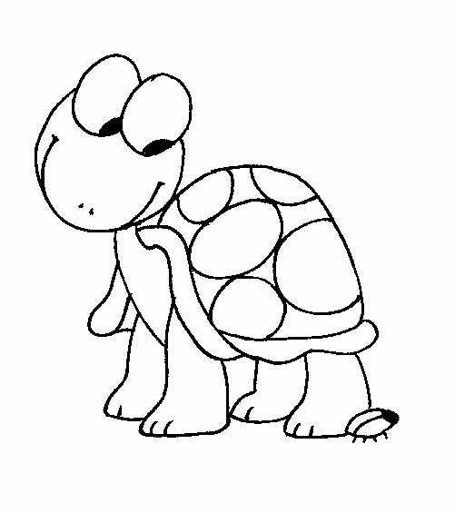 Line Drawing Turtle : Turtle line drawing templates and stencils for crafts