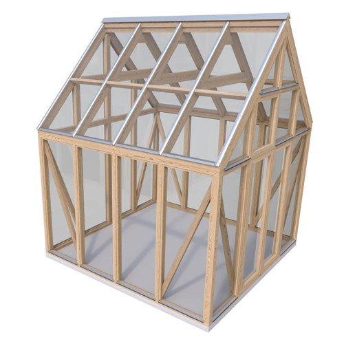 Vokse 8,9 m² Hybridrom med saltak fra grontfokus.no