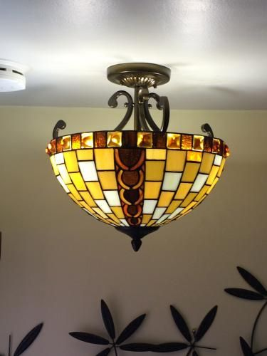 This One Of The Highest Rated Home Depots Tiffany Style Lamps