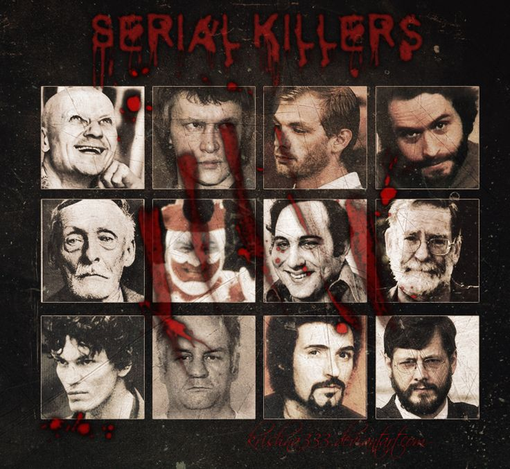 serial killers encoded at birth or Infamous serial killers close many of the most horrifying acts of violence are committed by serial killers always looking for next victim, these murderers kill.