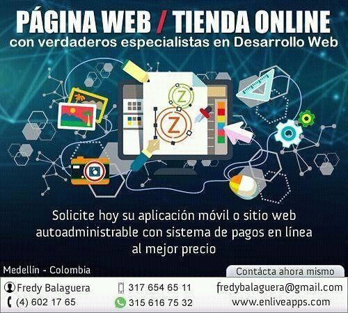 Instagram - #developer #desarrollador #aplicaciones #moviles #diseñodepaginasweb #colombia #medellin #clasificados #tiendaonline #tiendaenlinea #website #communitymanager #socialmedia