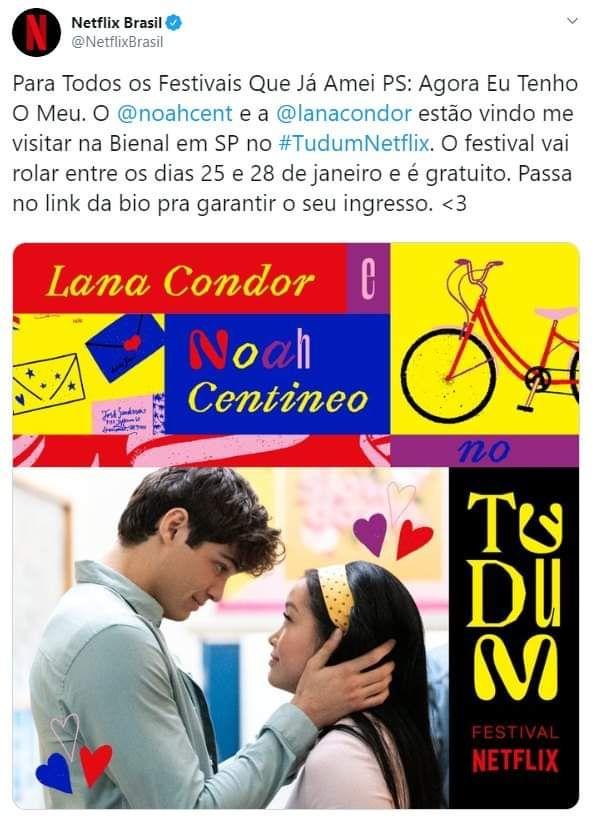 Netflix Confirma Evento Com Atores De Para Todos Os Garotos Que Ja