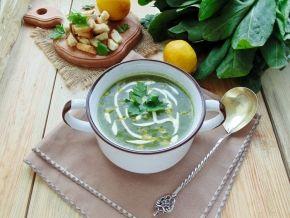 Крем-суп из шпината, рецепт с фото