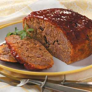 Slow cooked taco meat loaf