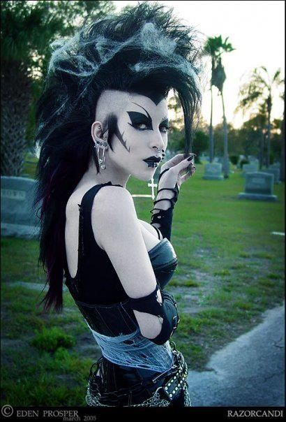 Razor Candi is her name, she is an amazing person.