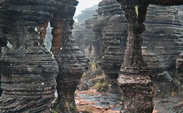 Labirinto em Monte Roraima