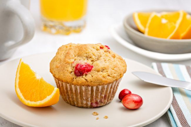 Brighten your morning with tasty cranberry muffins. This recipe, with gluten-free millet flour and vegan ingredients, can be enjoyed by everyone in your household.