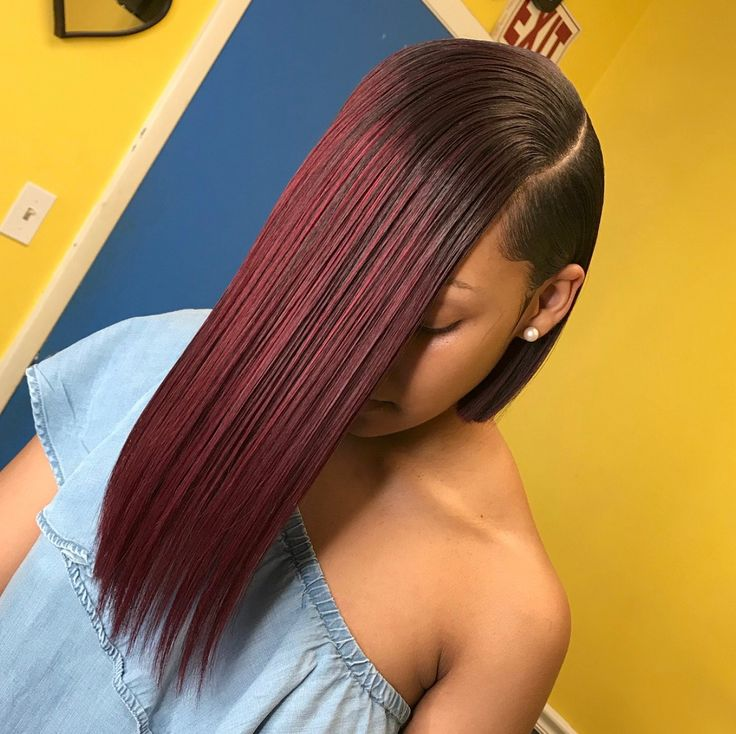 Brazilian hair sew in weave. Need MINK brazilian bundles, closures, or frontals? Please visit our website and shop now. Photo credit: @stylesbyashyraa on IG