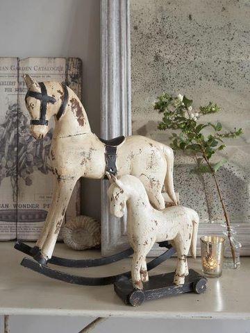 Vintage Wooden Horses