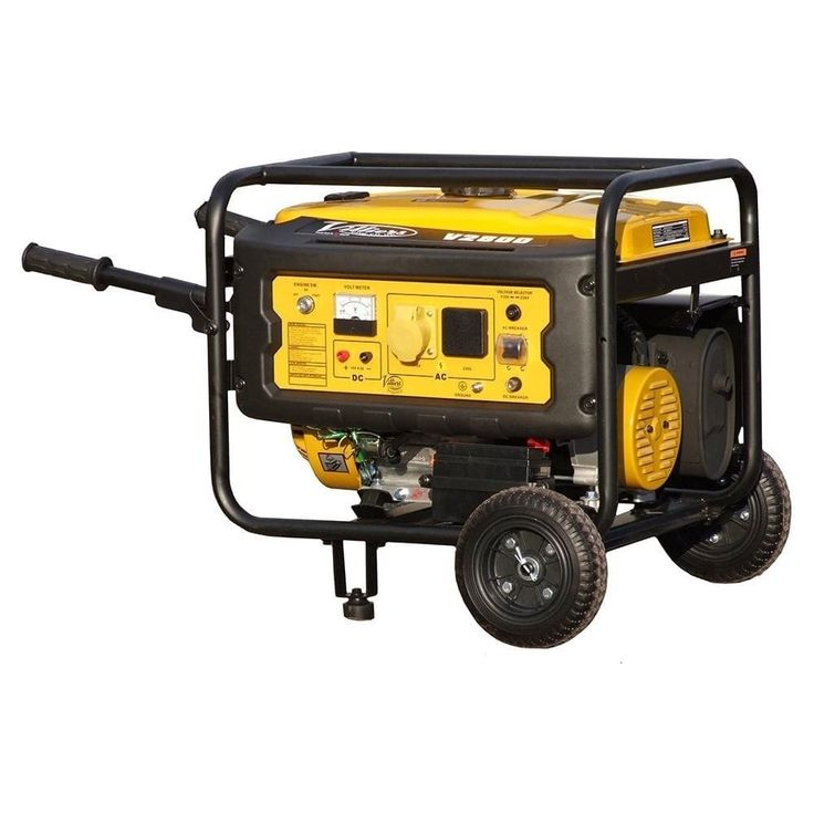 Villiers V2800ES 2.5kW Silent Petrol Generator - Petrol Silent Generators from pump.co.uk - W.Robinson & Sons (Ec) Ltd UK
