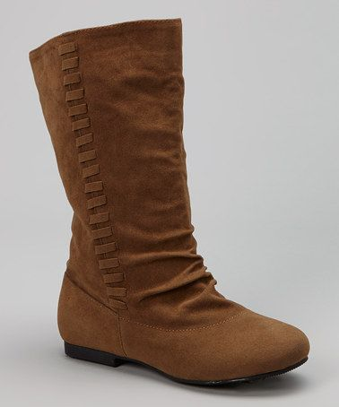 Love this Tan Native Boot by Simply Petals on #zulily! #zulilyfinds