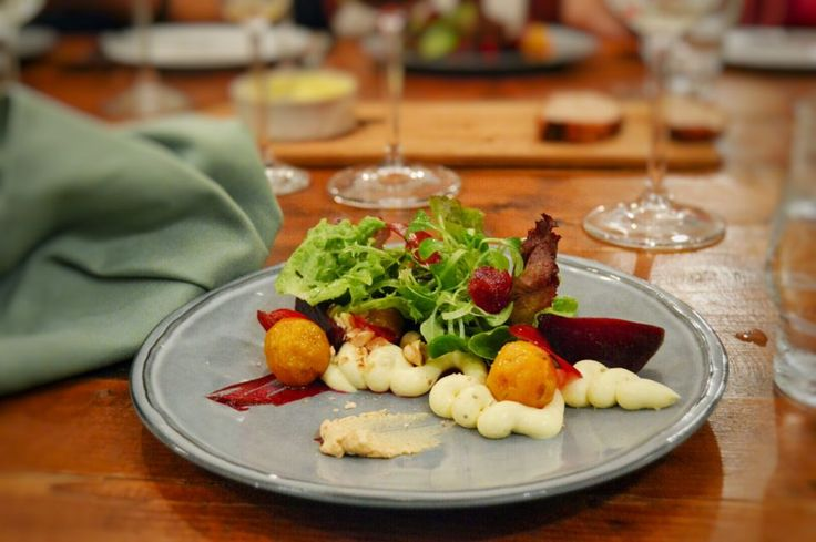 Beetroot & Goats Cheese Salad One of my favourite dishses from Reverie-Social-Table