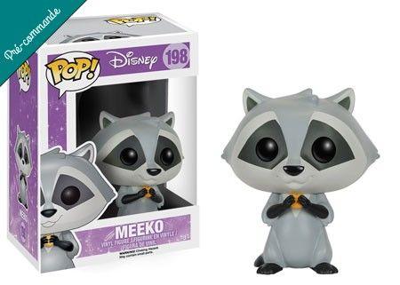 Préco - Disney Funko Pop Meeko - Funko POP!/Pop! Disney - Little Geek