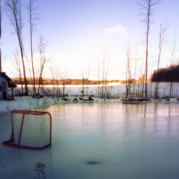 Outdoor rink.. Wisconsin