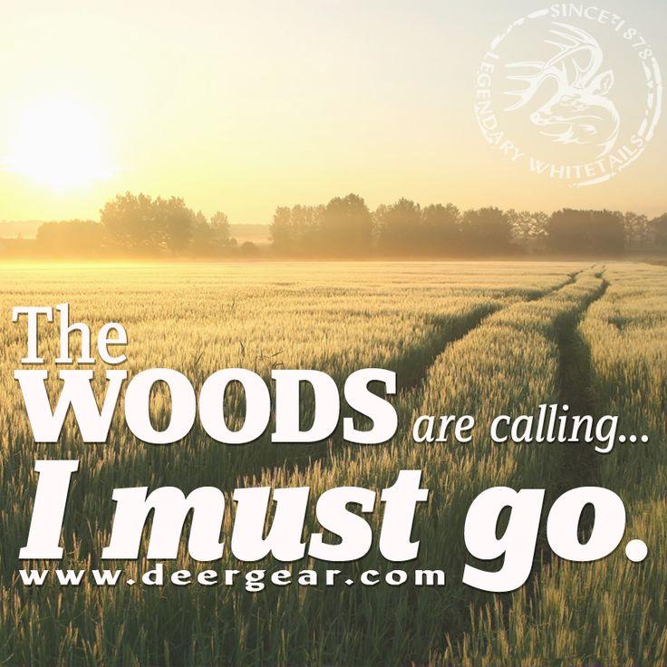 The #woods are calling again! #WeAreLegendary #LegendaryWhitetails