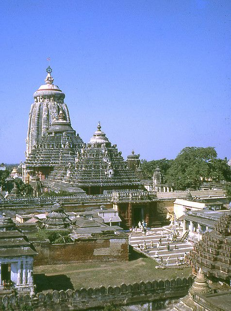 Jagannath Temple, Puri, Orissa, India