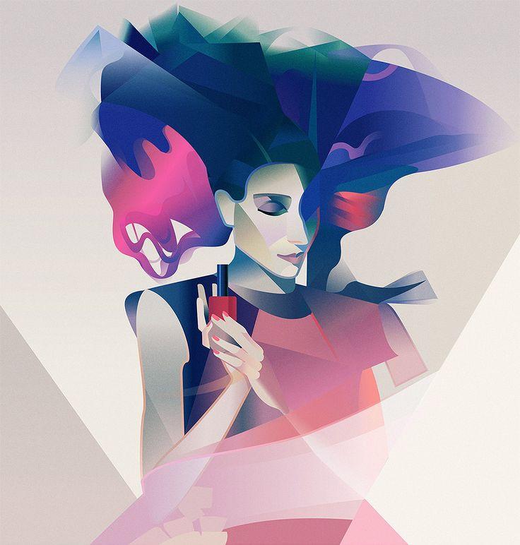 Illustrations by Anta Alek | Inspiration Grid | Design Inspiration