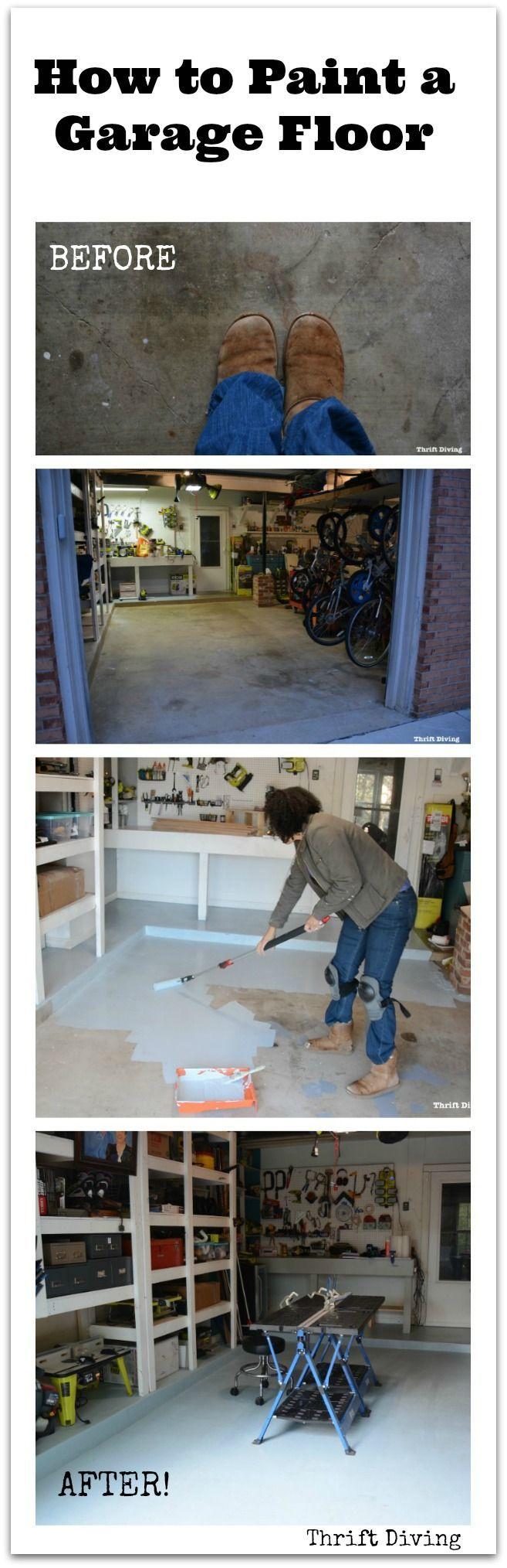 Best 25 Painted Garage Interior Ideas On Pinterest Diy Garage Interior Epoxy Garage Floor