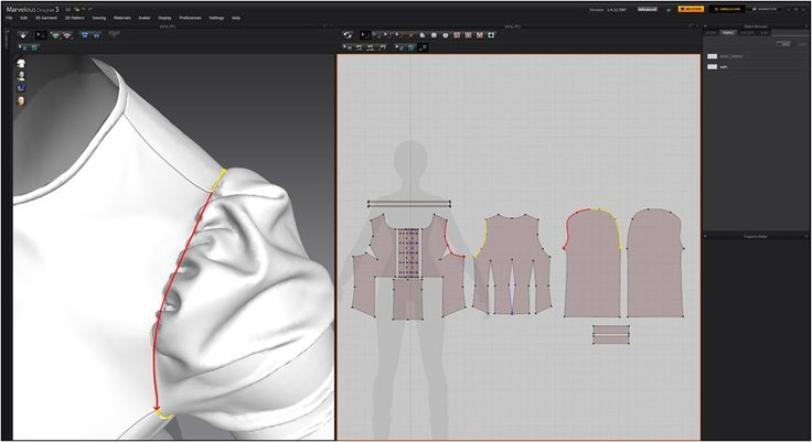 // Modeling 3D clothes in Marvelous Designer by JH Park (page 2 of 4) / 3ds Max, Maya, V-Ray, ZBrush, Misc, Rendering, Modelingtutorial from 3dtotal.com
