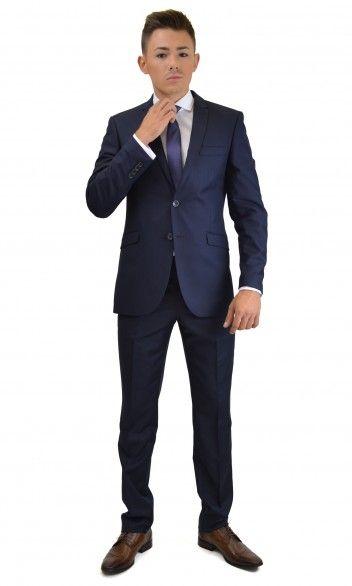 Navy blue super slim suit!