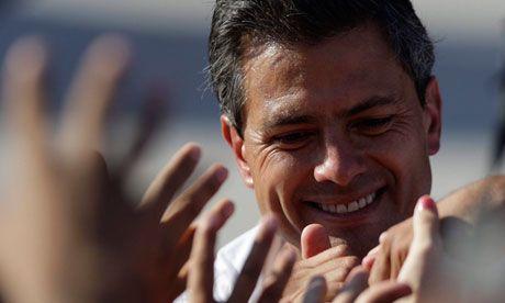 Enrique Pena Nieto - new President for Mexico