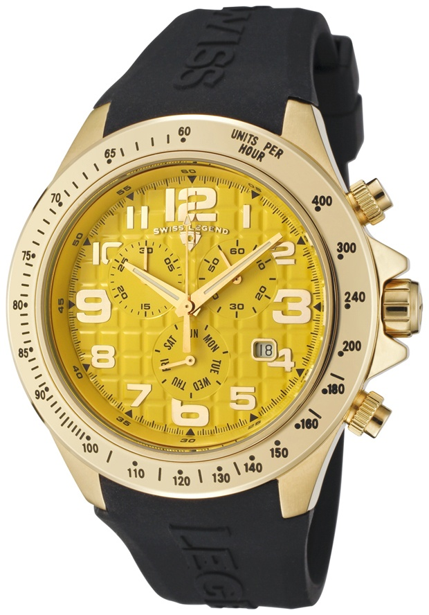 Price:$139.99 #watches SWISS LEGEND 30041-YG-07, With a detailed facade displaying multi-functional subdials, this Swiss Legend chronograph is style built with precision.