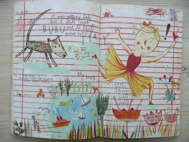 stickers and stuff: Dear Diary - Sara Fanelli