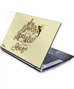 Tinker Bell Leave A Little Sparkle Laptop Skins
