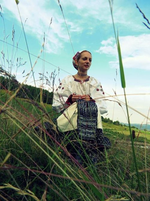 "slovak-folk-costumes: "" Polomka village, Horehronie region, Central Slovakia. """