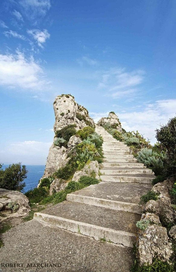 stairway to heaven! in capo Milazzo