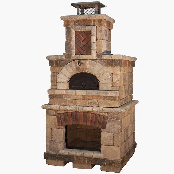 Elegant Fireplace Pizza Oven Combo   Bing Images Throughout Outdoor Fireplace And Pizza Oven