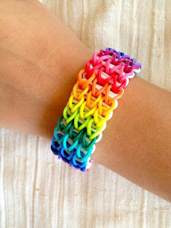 Rainbow Loom Friendship Bracelet Rubber Bands Multicolor