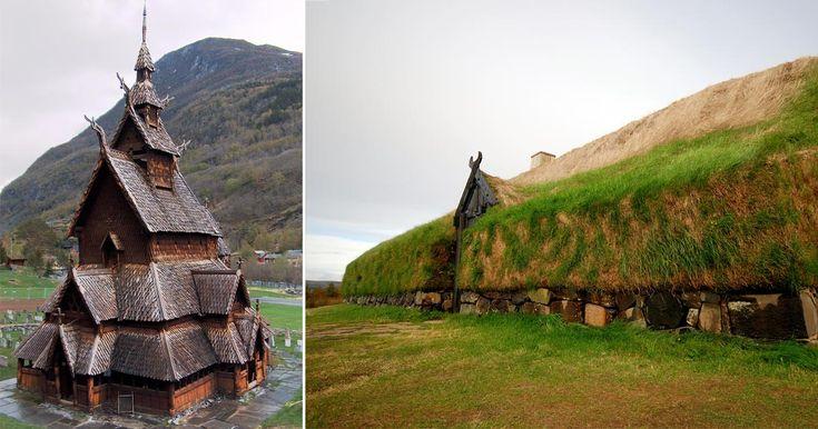 "L'Architettura Medioevale Scandinava fra Trelleborg, Stavkirke e ""Casa di Torba"""