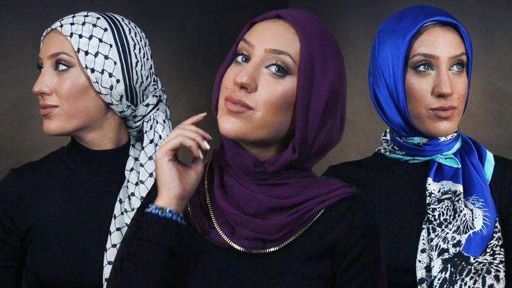 1 Woman + 7 Hijab Styles   @velascarves