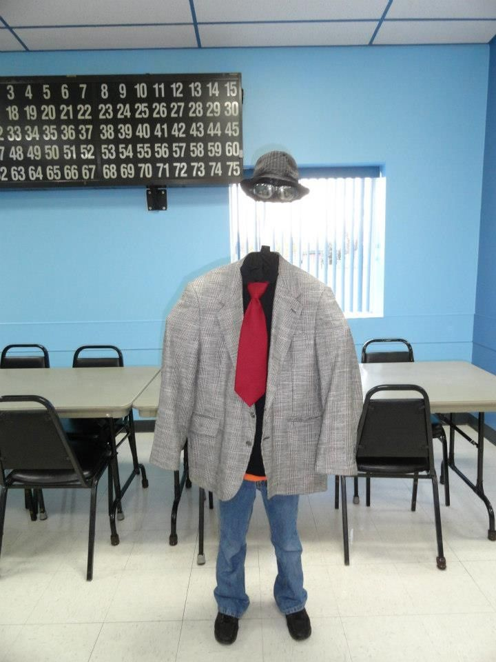 The Invisible Man Halloween Costume 2012 He won 1st in his age group
