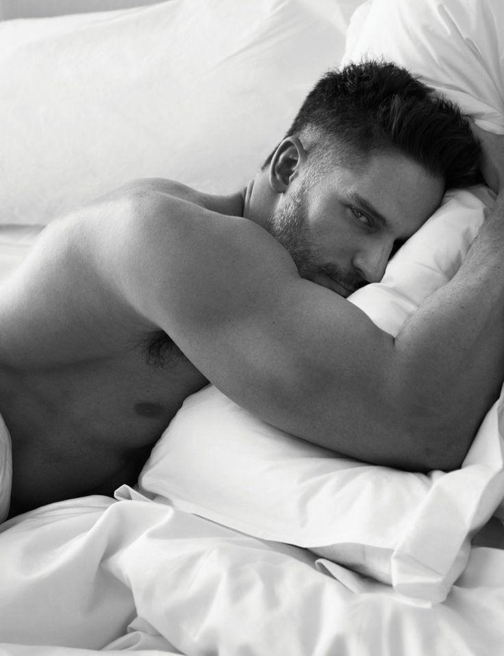 w magazine photos 0001 Joe Manganiello, Pharrell, David Gandy + More Go Shirtless in Bed for W Magazine