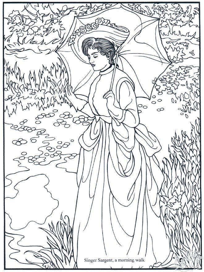 famous pictures coloring pages - photo#26