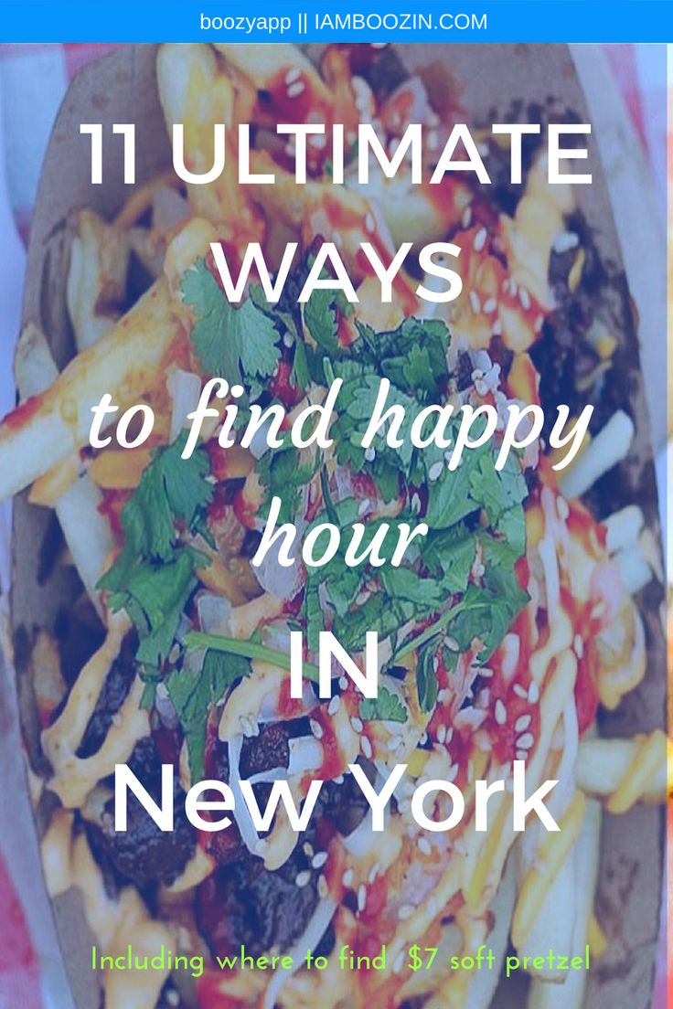 Happy Hour Midtown | 11 Ultimate Ways To Find Happy Hour In New York [Including where to find $7 soft pretzels]...Click through for more!  Happy Hour New York New York Happy Hour Happy Hour NYC NYC Happy Hour