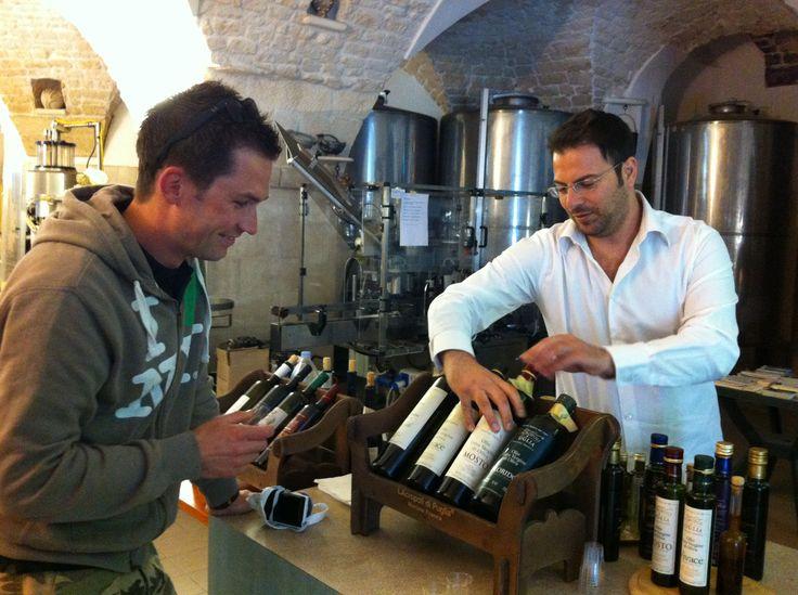 with Vincenzo Lucarella