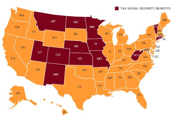 States That Tax Social Security Benefits Consider Before
