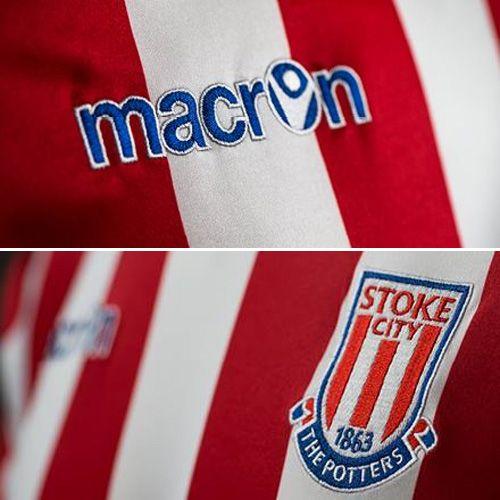 stoke city macron  | Stoke City fecha contrato com Macron por 5 anos | Mantos do Futebol ...
