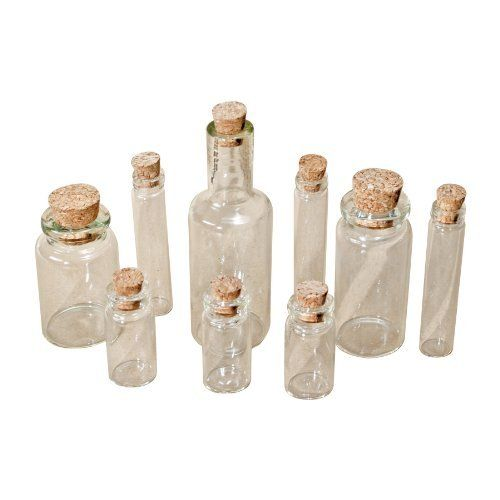 Tim Holtz Idea-ology Findings - Corked Vials by Tim Holtz, http://www.amazon.co.uk/dp/B004SF05Y4/ref=cm_sw_r_pi_dp_3sp8sb03C8GN4