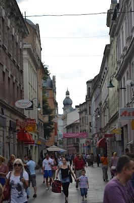 Streets of Stari Grad [Old City] Sarajevo (Bosnia & Herzegovina)