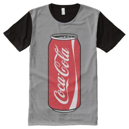 Coca-Cola | Can of Coke All-Over-Print Shirt - click/tap to personalize and buy