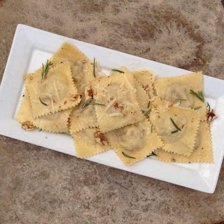 Chicken, date and walnut ravioli recipe. CLICK TO WATCH: https://youtu.be/qUzUftn7bRs?t=18m46s #ravioli #DinnerRecipe
