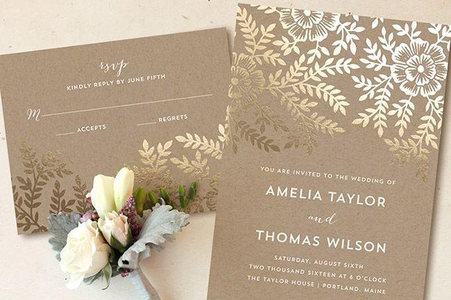 Wedding Invitation Giveaway: Best 25+ Gold Invitations Ideas On Pinterest
