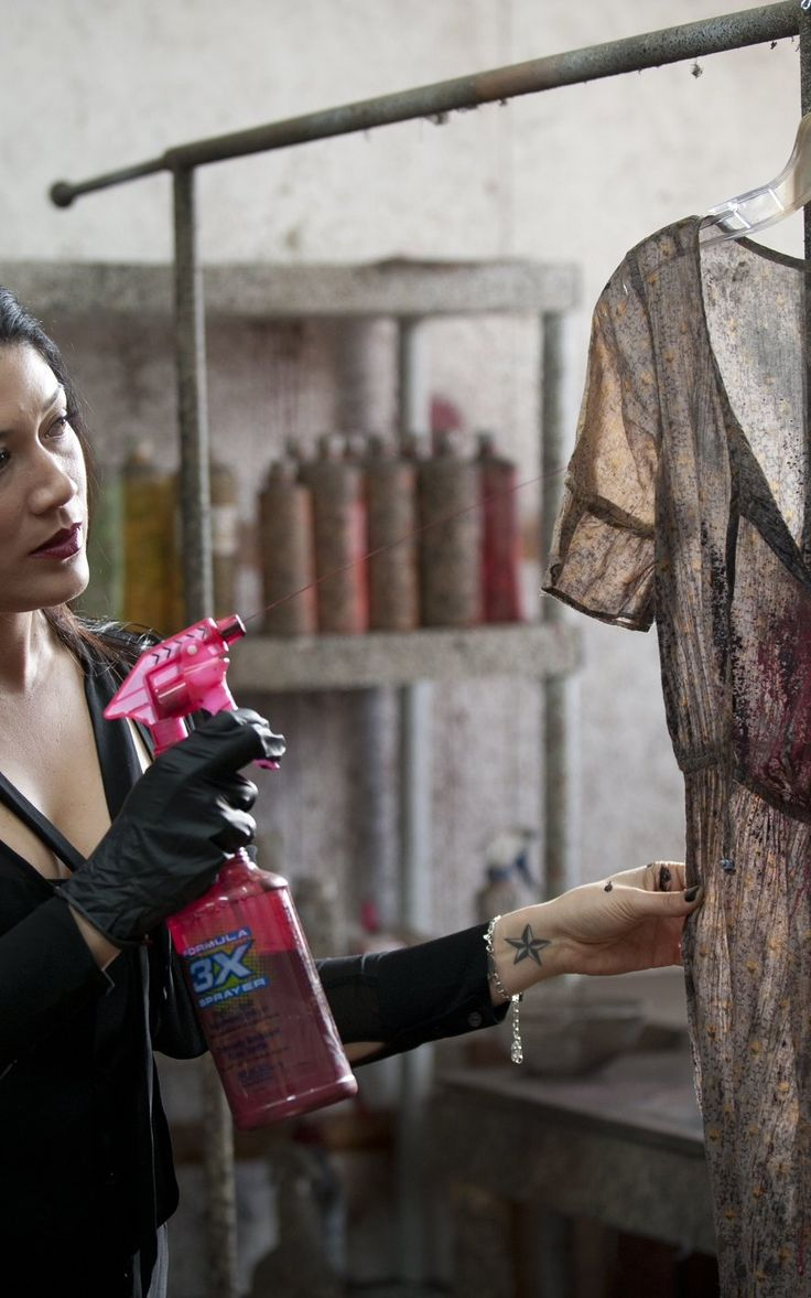 What To Wear To The Apocalypse: Walking Dead Costumer Eulyn Womble On Telling A Story With Wardrobe | Co.Create | creativity + culture + com...